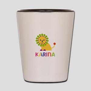 Karina the Lion Shot Glass
