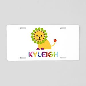 Kyleigh the Lion Aluminum License Plate
