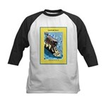 """Surfing Dog"" Kids Baseball Jersey"