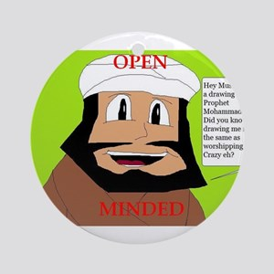 openminded Ornament (Round)