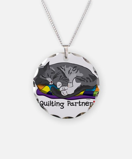 Quilting Partner Necklace