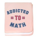 Addicted to Math baby blanket