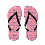 Addicted to Math Flip Flops