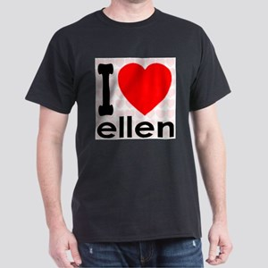 I Love ellen Dark T-Shirt