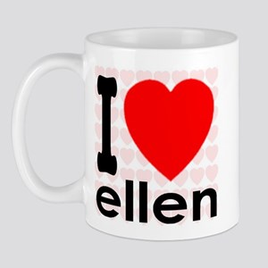 I Love ellen Mug