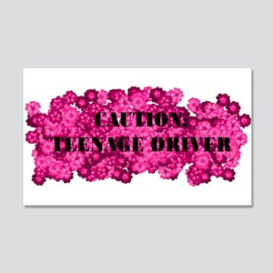 Caution: Teenage Driver V4 22x14 Wall Peel