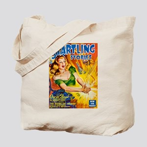 Science Fiction Woman Cover Tote Bag