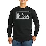 Bike Widow Long Sleeve Dark T-Shirt