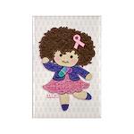 Little Emma (BCA White) Rectangle Magnet (10 pack)