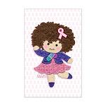 Little Emma (BCA White) Mini Poster Print