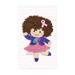 Little Emma (BCA White) Sticker (Rectangle 10 pk)