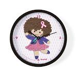 Little Emma (BCA White) Wall Clock