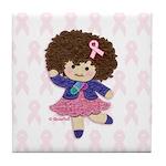 Little Emma (BCA White) Tile Coaster