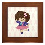 Little Emma (BCA White) Framed Tile
