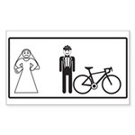 Bike Widow Sticker (Rectangle)