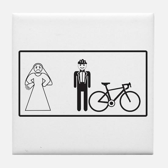 Bike Widow Tile Coaster