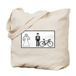 Bike Widow Tote Bag