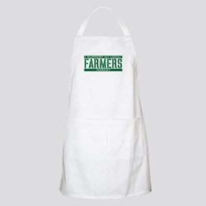 I Support My Local Farmers Market Apron