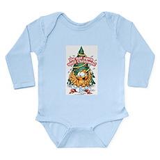 Do Not Open Until Christmas Long Sleeve Infant Bod
