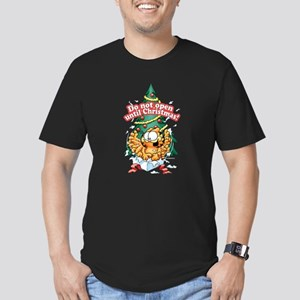 Do Not Open Until Christmas Men's Fitted T-Shirt (