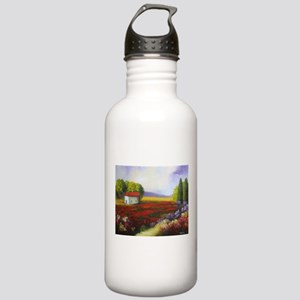 LANDSCAPE PAINTING Stainless Water Bottle 1.0L