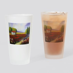LANDSCAPE PAINTING Drinking Glass