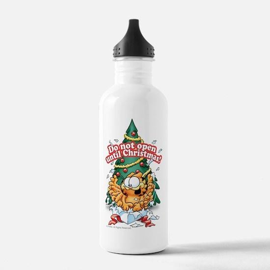 Do Not Open Until Christmas Water Bottle