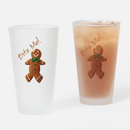 Cute Loves cookies Drinking Glass