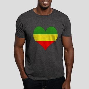 Ethiopia Heart Dark T-Shirt