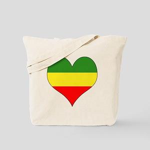 Ethiopia Heart Tote Bag