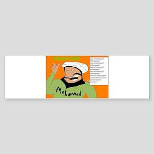 Draw Him Sticker (Bumper)