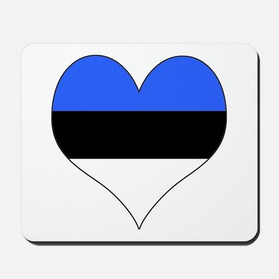 Estonia Heart Mousepad