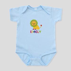 Emely the Lion Infant Bodysuit