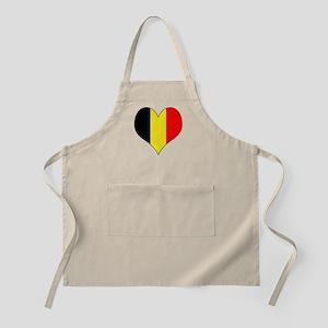 Belgium Heart Apron