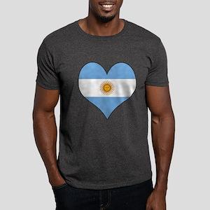 Argentina Heart Dark T-Shirt