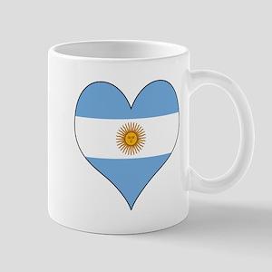 Argentina Heart Mug