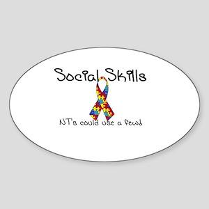 Social Skills Autism Asperger's awareness Sticker