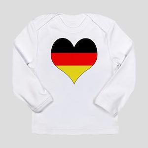 Germany Heart Long Sleeve Infant T-Shirt