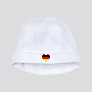 Germany Heart baby hat