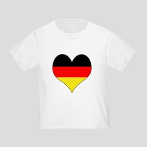 Germany Heart Toddler T-Shirt