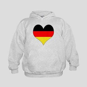 Germany Heart Kids Hoodie