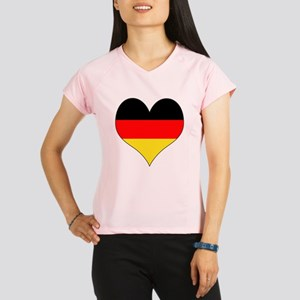 Germany Heart Performance Dry T-Shirt