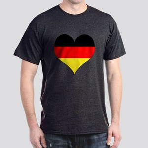 Germany Heart Dark T-Shirt