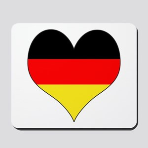 Germany Heart Mousepad