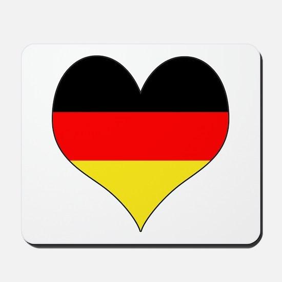 Germany Heart Mousepad