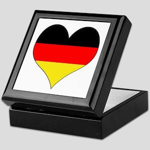 Germany Heart Keepsake Box