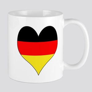 Germany Heart Mug
