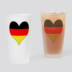 Germany Heart Drinking Glass