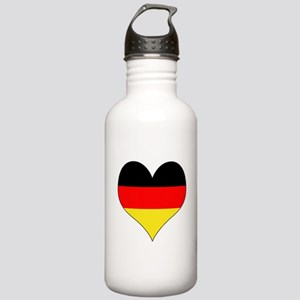 Germany Heart Stainless Water Bottle 1.0L