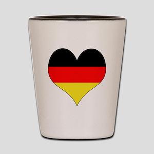 Germany Heart Shot Glass